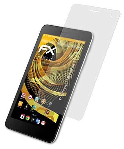 atFolix Panzerfolie kompatibel mit Huawei MediaPad T1 7.0 Schutzfolie, entspiegelnde & stoßdämpfende FX Folie (2X)