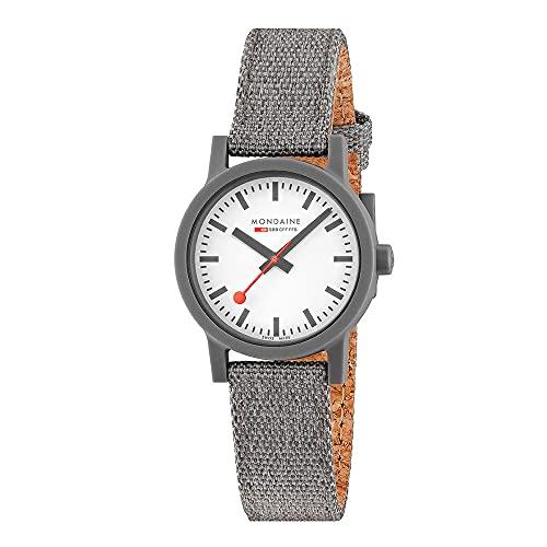 Mondaine Reloj Analógico para Unisex Adulto de Automático con Correa en Acero Inoxidable MS1.32110.LU