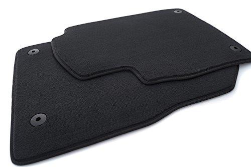 Fußmatten Astra J (Velours) Automatten Original Qualität 2-teilig schwarz
