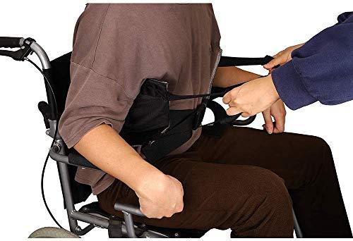 HNYG Non-Slip Medical Lift Belt with Fixed Belt, Gait Belt Transfer Belt for Lifting Seniors, 400Lbs Padded Transfer Sling, Lift Assist for Elderly Transfers from Cars, Bed, Wheelchairs