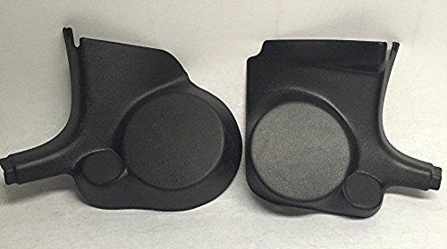 Q-Forms Kick Panel 6.5' Component Speaker Mounts for Chrysler 300, Dodge Charger & Magnum