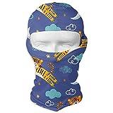Moon Tiger Balaclava-Ski Mask for Men Women Mountain Climbing Gesichtsmaske Hood