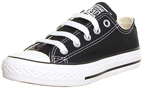 Converse Chuck Taylor all Star Core Shoes, Scarpe da Ginnastica Unisex-Adulto, Ox Black, 34 EU