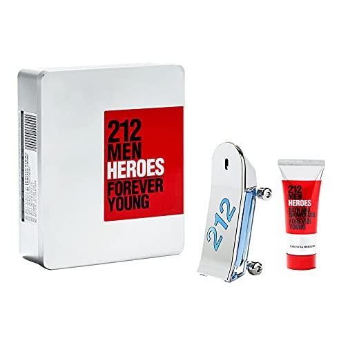 Carolina Herrera 212 Heroes 2-teiliges Geschenkset Eau de Toilette 90 ml – Duschgel 100 ml