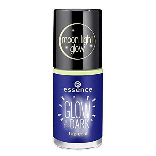 essence - Top Coat - glow in the dark top coat - girl on the moon