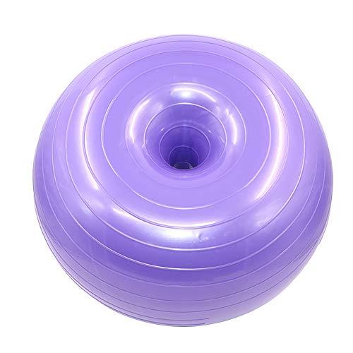 Pelota de Yoga Donut Ball La Bola de Yoga Donut Espesa el Ejercicio de Asiento antiexplosión La Bola de Yoga Mejora la Fuerza Central, el Equilibrio, la coordinación y la flexibilidad 50cm X 28cm