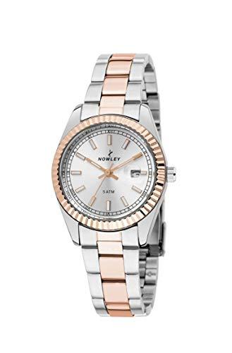 Reloj NOWLEY Mujer Bicolor Chapado IP Rose