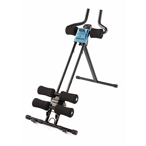 BEST DIRECT Gymform AB Generator Panca Addominali Plank E Sit Up Macchina Fitness Computer LCD
