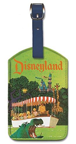 Pacifica Island Art Leatherette Luggage Baggage Tag - Disneyland by Stan Galli