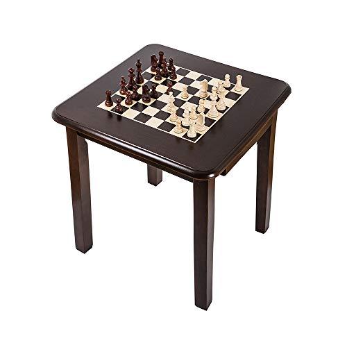 Square - Schachtisch 930 W - Schachfiguren & Schachbrett aus Holz