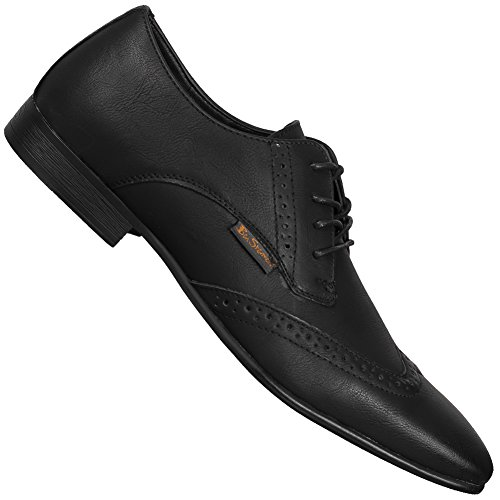 BEN SHERMAN 4 EYE FASHION BROGUE Leder Herren Strassenschuhe Neu