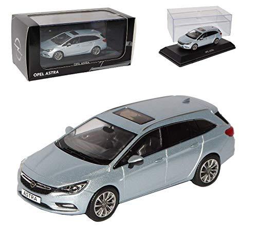.Opel Astra K Sports Tourer 1:43, Diamant Blau OC10920