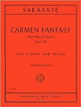 Best sarasate carmen fantasy violin sheet music Reviews