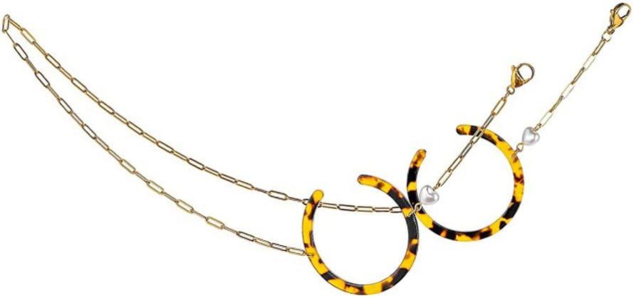 Holibanna Inexpensive Acrylic Eyeglass Chains Women Max 82% OFF Holde String Glasses Eye
