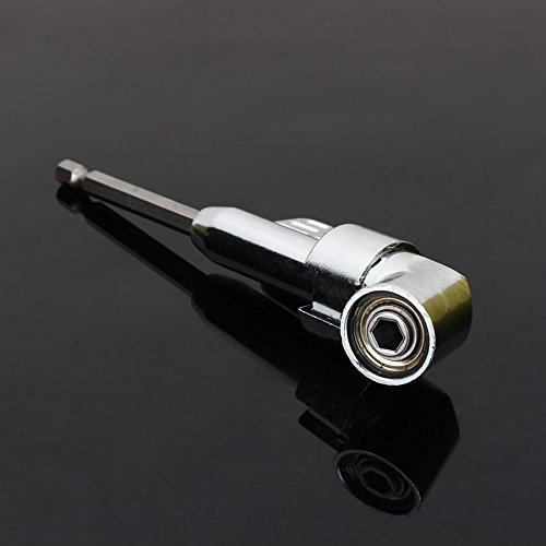 360 graden 1/4 inch magnetische hoek bit driver adapter schroevendraaier zeskant bit schacht boren kit