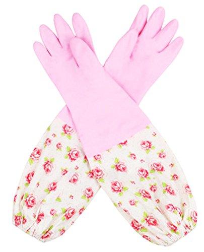 Des gants imperméables Velvet Worm Gants de nettoyage de la vaisselle -05