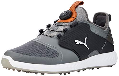 PUMA Men's Golf Shoes, Grey (Quiet Shade-Bronze Black 03), 42
