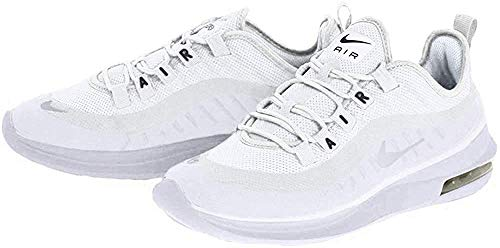 Nike Damen Air Max Axis Laufschuhe, Weiß (White/White/Black 100), 40.5 EU