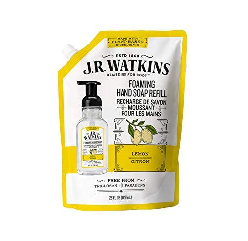 J.R.Watkins(ジェイ・アール・ワトキンス) フォーミングハンドソープリフィル レモン 828ml
