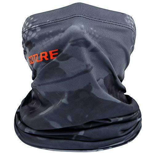Goture ネックカバー 冷感 フェイスカバー 釣り用 UVカット/UPF50+/日焼け防止 滑り止め 日焼け防止 夏 秋 伸縮素材 男女兼用