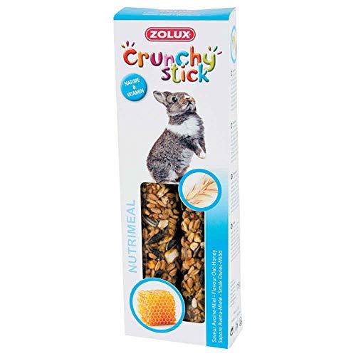 Zolux Crunchy Stick Friandise pour Lapin Avoine/Miel 115 g
