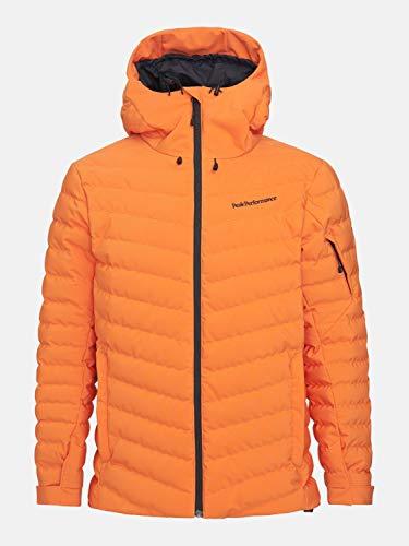 Peak Performance Herren Frost Skijacke orange M