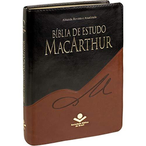 Bíblia de Estudo MacArthur: Almeida Revista e Atualizada (ARA)
