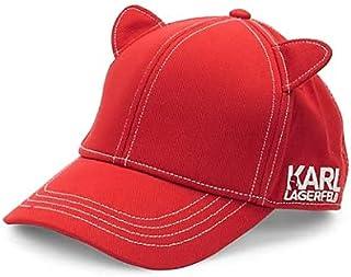 Karl Lagerfeld Paris Womens Cat Ear Baseball Hat Baseball Cap