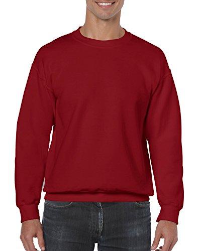 Gildan Men's Heavy Blend Crewneck Sweatshirt - Large - Cardinal Red