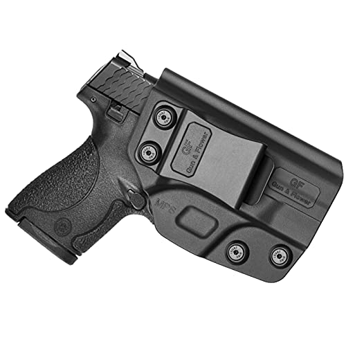 M&P Shield 9mm Holster, Polymer IWB Holster Fit S&W M&P Shield 9mm/.40 S&W/Smith and Wesson M&P Shield M2.0 Compact Inside Waistband Concealed Carry. Not Fit Light/Laser/M&P/EZ-Adj-No Wear-No Jitter