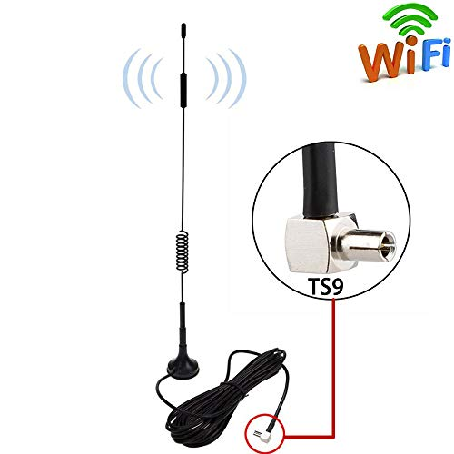 TS9 10dBi Magnetic Antenna MIMO WiFi Bluetooth Repeater Booster...