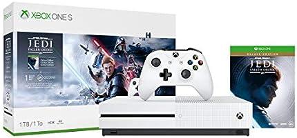 Microsoft Xbox One S 1TB Console - Star Wars Jedi: Fallen Order Bundle DLC