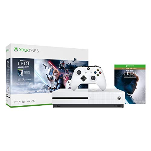 Xbox One S 1TB Console - Star Wars Jedi: Fallen Order Bundle [DISCONTINUED]