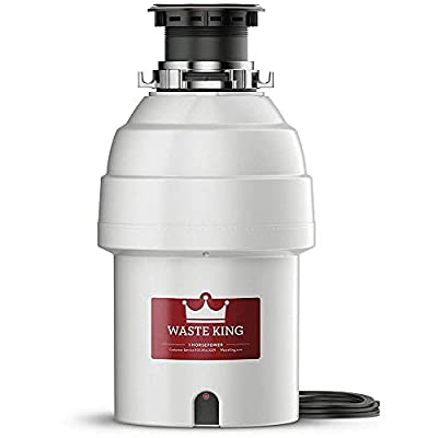 L-8000 Legend Series 1 HP Continuous Feed Garbage Disposal- WasteKing
