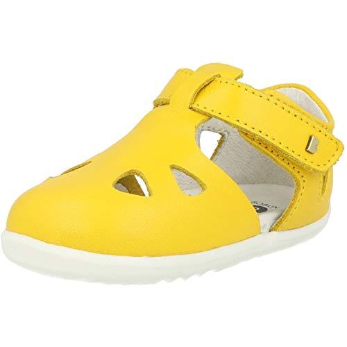 Bobux Unisex-Kinder Zap Geschlossene Sandalen, Gelb (Yellow 1), 22 EU