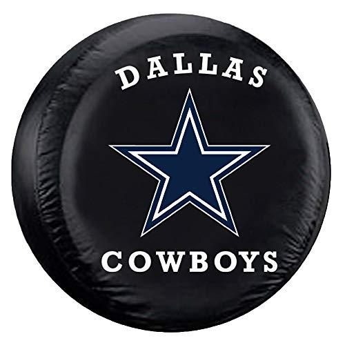 Fremont Die NFL Dallas Cowboys Tire Cover, Large Size (30-32