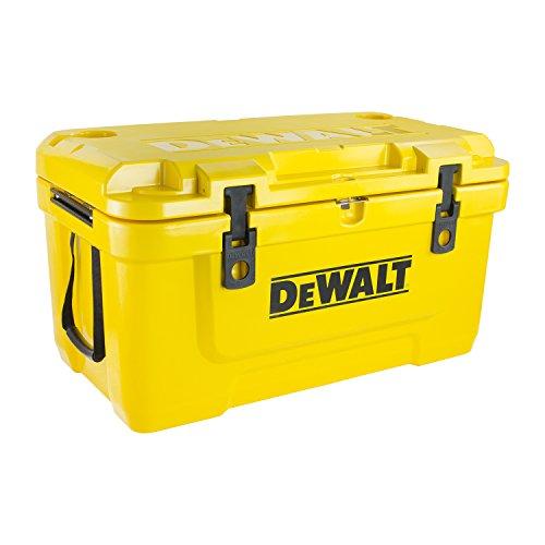 DeWalt Roto Enfriador Moldeado, Nevera, DXC65QT, Amarillo, 65 Qt