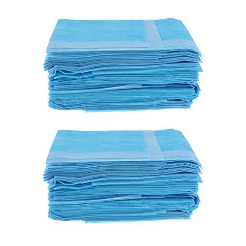 Milageto 120X Pacientes Incontinencia Desechables a Prueba de Fugas Bed Pad Underpad Protection