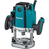 Makita Plunge Router 22, 000 RPM, 3-1/4 HP
