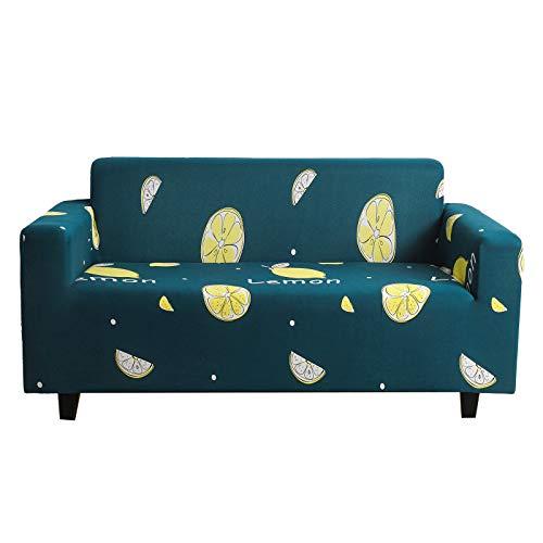 XHHXPY Funda de Sofá Elastica Cubre/Protector Sofá Ajustables Estampado Cubierta Sofa Muebles con Cuerda de Fijación para la Decoración de la Sala,Style a,1 Seater