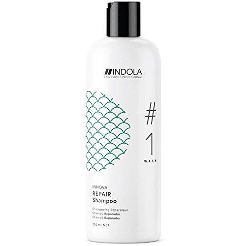 Indola Innova Wash Repair Shampoo für geschädigtes Haar, 300 ml