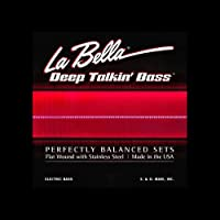 La Bella 760NB/Deep Talkin' Bass/060-135/5strings/Black Nylon Tape Wound