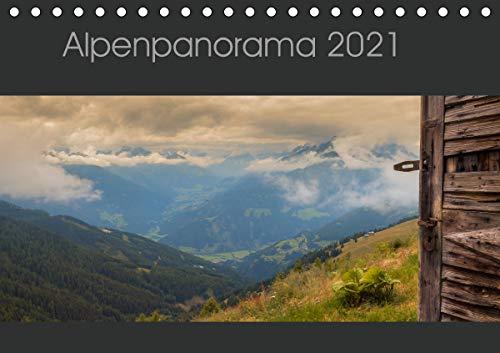 Alpenpanorama 2021 (Tischkalender 2021 DIN A5 quer)