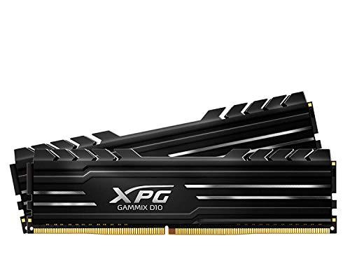 XPG GAMMIX D10 - Memoria DDR4 de 4 GB de 2400 MHz, overclocking con Intel XMP 2.0, diseño único de disipador de Calor… 1