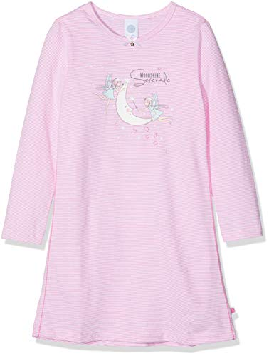 Sanetta Mädchen Sleepshirt Nachthemd, Pink (Carmine Rose 3929.0), 98