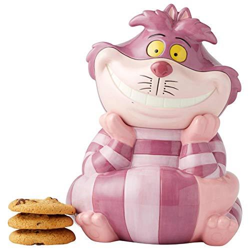 Enesco Disney Ceramics Alicia en el país de las maravillas Cheshire Gato tarro tarro de...