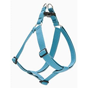 LupinePet Eco 1″ Tropical Sea 24-38″ Step In Harness for Large Dogs