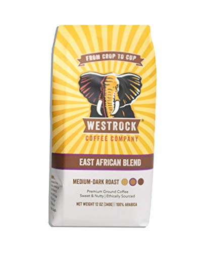 Westrock Coffee Company East African Blend, Medium-Dark...