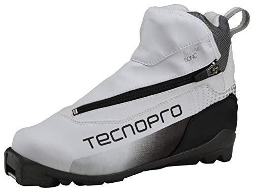 Tecnopro Damen Safinie Sonic Pro Traillaufschuhe, Weiß (WSS/SCHW/SILB 901), 42 2/3 EU