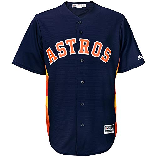 Outerstuff MLB 8-20 Youth Blank Cool Base Alternate Color Team Jersey (X-Large 18/20, Astros Alternate Navy)